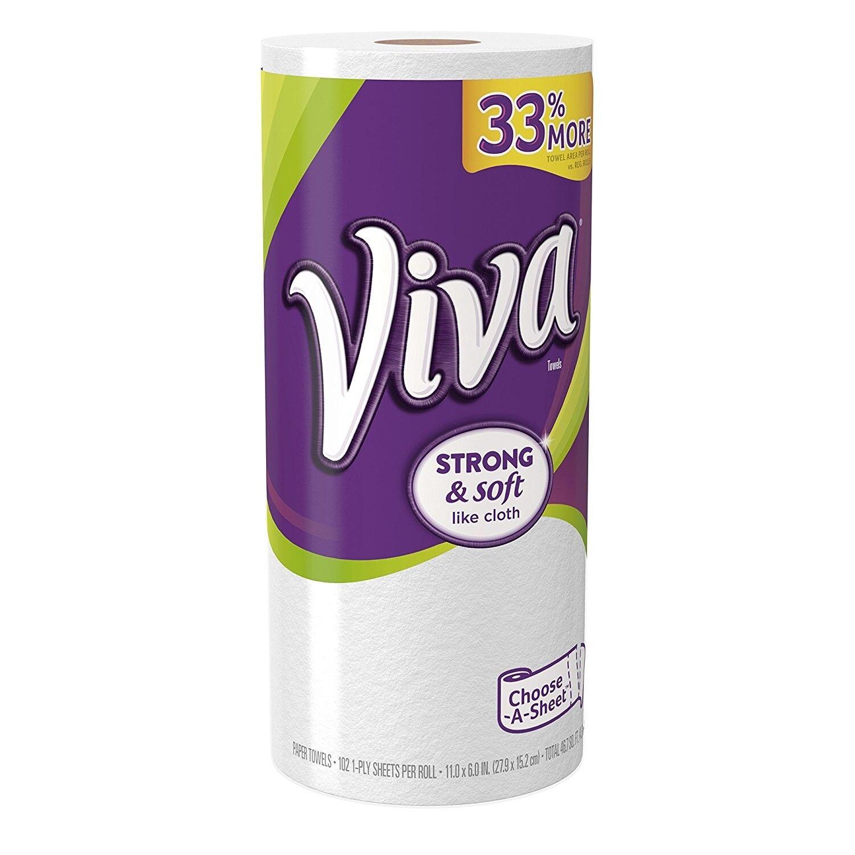 Viva Paper Towels Choose-a-size Big Roll 1 Count | eBay