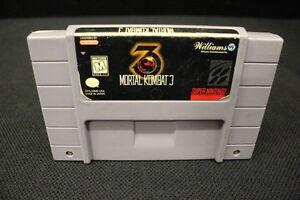 MORTAL-KOMBAT-3-Super-Nintendo-SNES-Game-Cartridge-Guaranteed