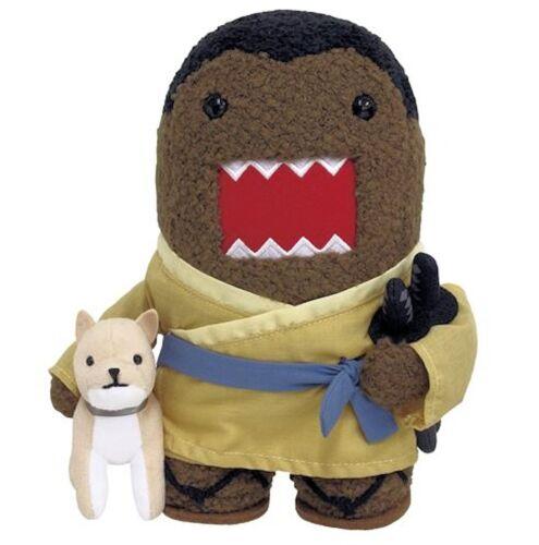 SAMURAI Kimono Domo Kun w// Dog Katana Sword Plush Toy Original Licensed NHK Tag