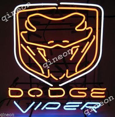 """24/""""X24/"""" RARE Dodge Plymouth Dependable Service Chrysler Mopar NEON SIGN LIGHT"""