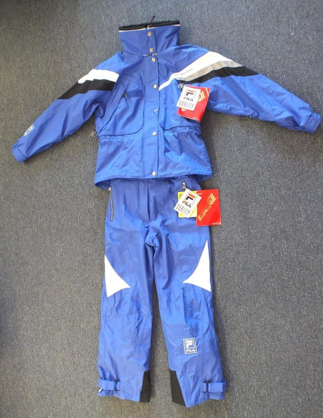 Fila Vail Beaver Creek High Quality 2 Part Entrant GII Ski School Suit NEW Wmn 8