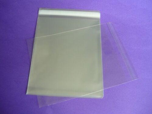 100 6 x 9 Clear Resealable Cello Bag Plastic Envelopes Cellophane Sleeves