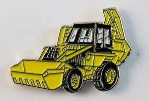 Yellow Digger enamel pin / lapel badge
