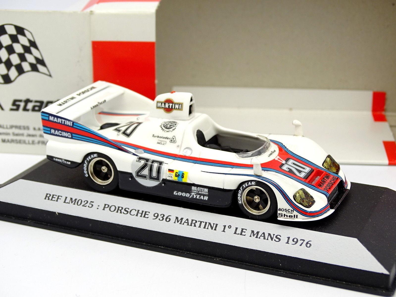 Starter 1 43 - Porsche 936 Martini Winner Le Mans 1976