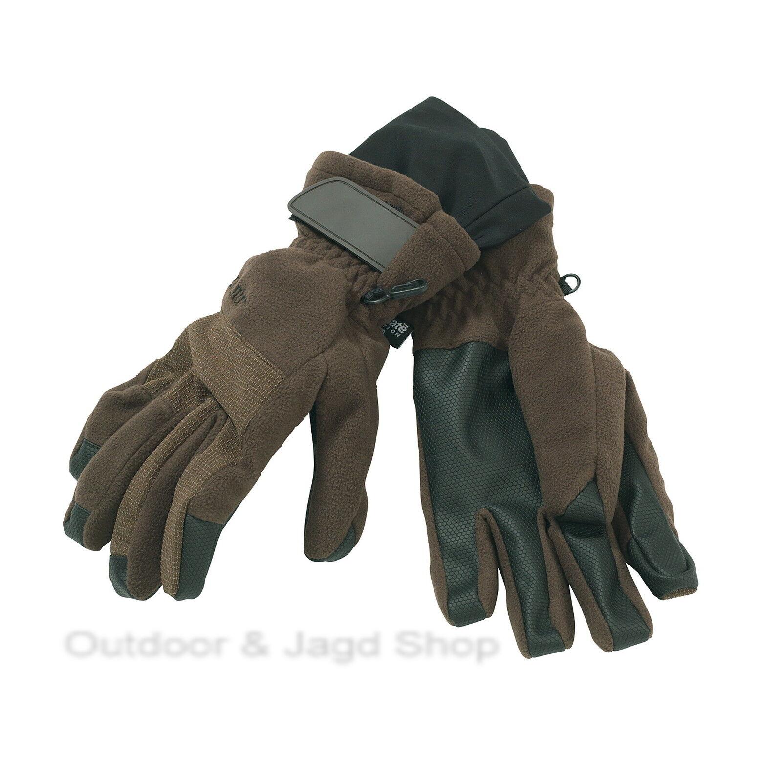 DEERHUNTER CUMBERLAND Handschuhe Jagdhandschuhe 383-Dark Elm green Gr. M - 2XL