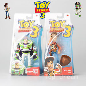 Toy-Story-3-Disney-Buzz-Lightyear-amp-Woody-Fully-Articulated-Action-Figure-In-Box