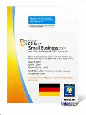 Microsoft Office Small Business 2007 Vollversion MLK mit OVP