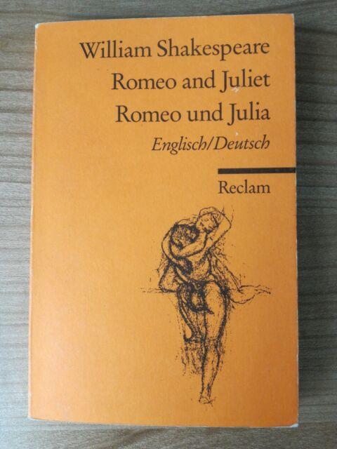 Romeo and Juliet /Romeo und Julia von William Shakespeare (1986, Taschenbuch)
