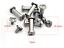 M3-5-Steel-Screws-Knife-DIY-Knife-Handle-Fastening-Screw-Rivet-Nut-2-Pieces thumbnail 2