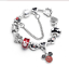 ARMBAND-BETTELARMBAND-17-CM-MICKEY-MOUSE-SCHLOSS-CHARMS-ARMKETTE-SCHMUCK-DAMEN Indexbild 1