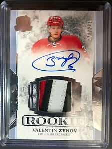 2017-18-The-Cup-Valentin-Zykov-Rookie-Patch-Auto-249