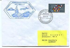 Romantique 1995 Wegener Inst Bremerhaven Polarexpeditionen Shiffspost Polar Antarctic Cover