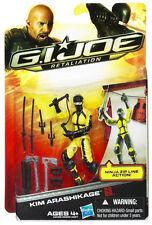 "G.I. JOE Retaliation Collection__KIM ARASHIKAGE 3.75 "" action figure_MIP and New"