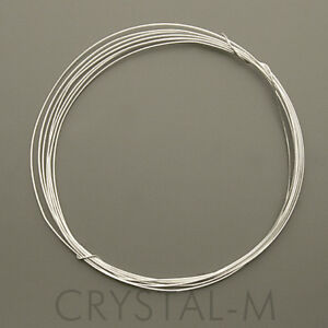 1 Meter Silberdraht; 925 Silber; Sterlingsilber 0,3 mm | eBay