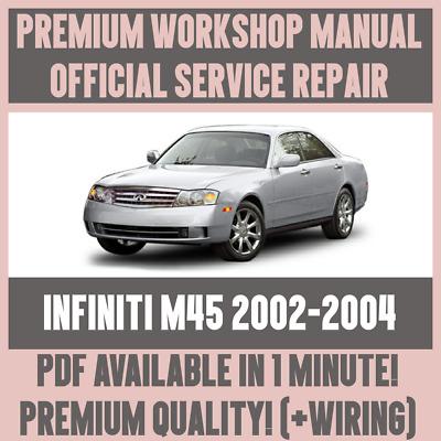WIRING # FACTORY WORKSHOP SERVICE REPAIR MANUAL INFINITI M45 2002-2004