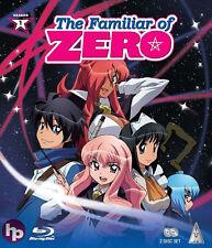 The Familiar Of Zero . Complete Season 1 . Collection . Anime . 2 Blu-ray . NEU