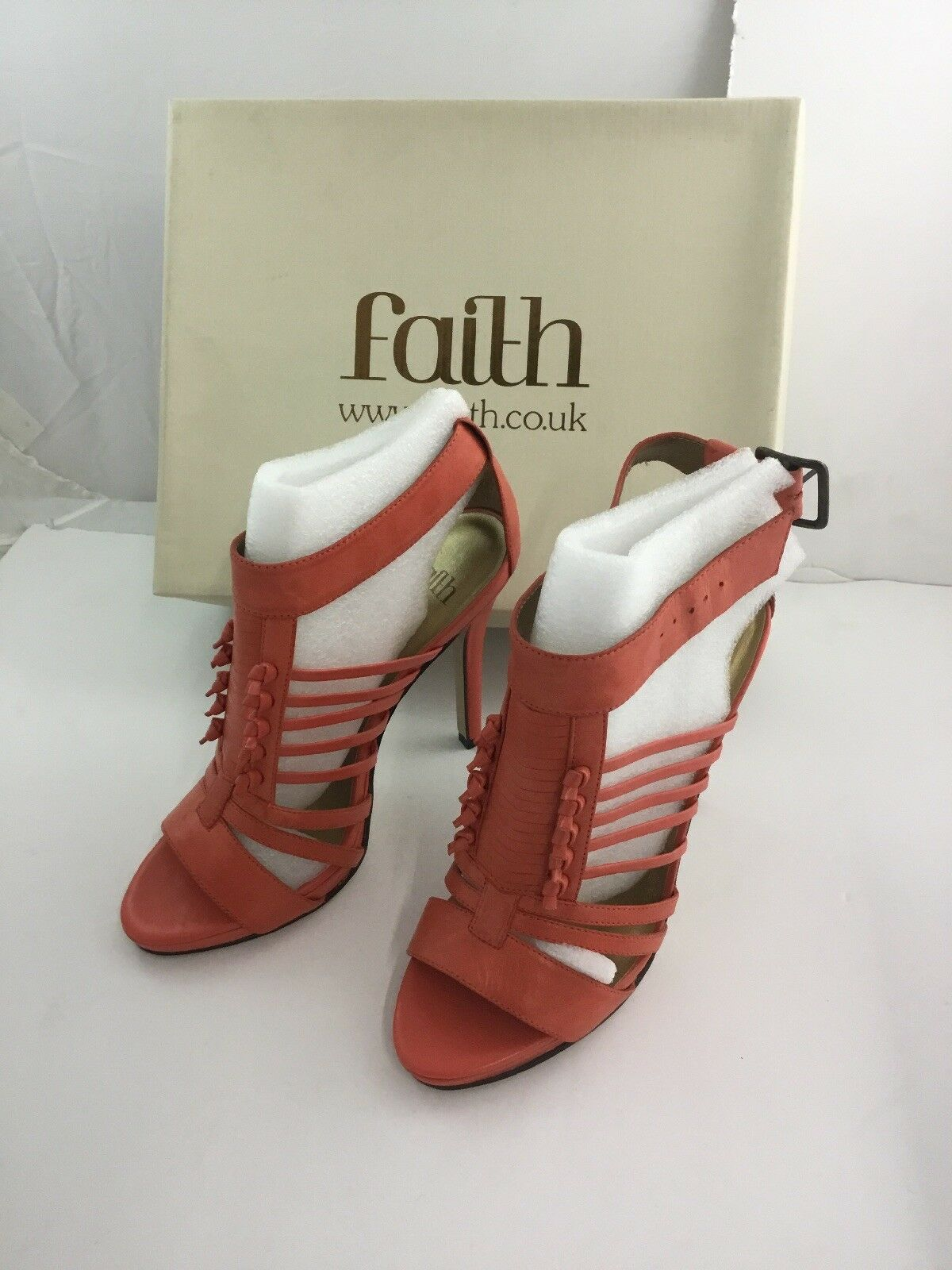 Faith Sandals Size 5 High Heels  Boxed Worn Once