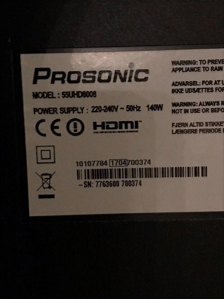 LCD, Prosonic, 55UHD8008