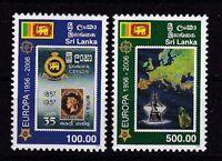 SRI LANKA/ 50 Jahre CEPT-Marken MiNr 1525/26 **