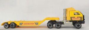 Vintage-1980-039-s-Tonka-Semi-Trucks-amp-Lowboy-Flatbed-Trailer-812733-B-811706-B