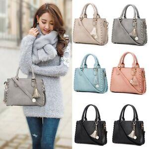 Women-039-s-Leather-Handbag-Shoulder-Hobo-Crossbody-Bag-Tote-Messenger-Satchel-Purse