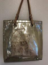 46b898dfe274d4 item 2 Michael Kors Grab Bag Convertible Signature North South GOLD Tote  Handbag MK -Michael Kors Grab Bag Convertible Signature North South GOLD  Tote ...