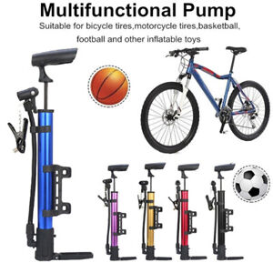 Hand  Basketball MTB Bike  Mini Bicycle Pump Ball Tire Inflator High Pressure