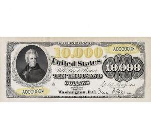10,000 francs 1958 Napoleon French Republic .VERY RARE Copy banknoty