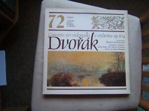 I TESORI DELLLA MUSICA CLASSICA=N°72=DVORAK=CONCERTO PER VIOLONCELLO E ORCH.=