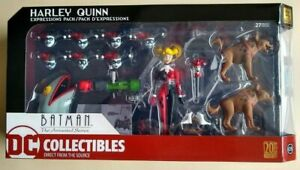 Harley Quinn Expressions Pack Batman the Animated Series Action Figure Sealed