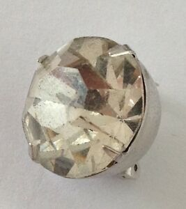 Diamonte-Pin-Badge-Rare-Vintage-H10