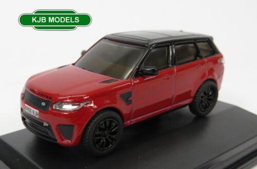 BNIB OO GAUGE OXFORD 1:76 76RRS003 Range Rover Sport SVR Firenze Red