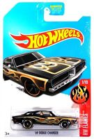 2017 Hot Wheels Kmart Day Hw Flames 1/10 '69 Dodge Charger Diecast Vehicle