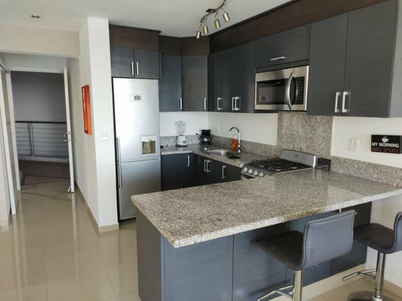 Renta de departamento 2 habitaciones  en la playa en Nuevo Vallarta Aria Ocean
