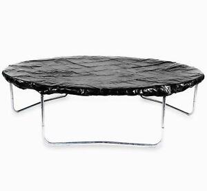 8FT-Trampoline-Weather-Rain-Dust-Cover-Black-Waterproof-Outdoor