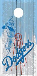 LA Los Angeles Dodgers Cornhole Board Wraps Skins Vinyl Laminated HIGH QUALITY!
