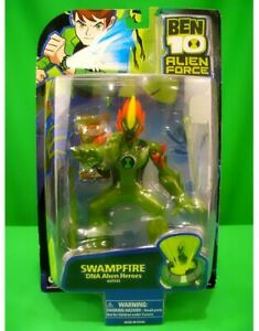 NEW-Ben-10-Alien-Force-SWAMPFIRE-DNA-Alien-Heroes-27533-6-034-Figure