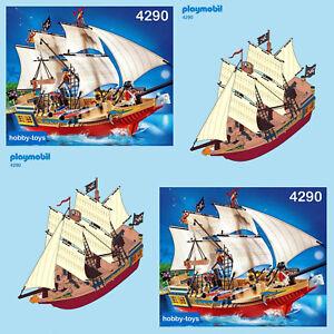 Pièce pour bateau pirate playmobil pirate boat 4290 Playmobil