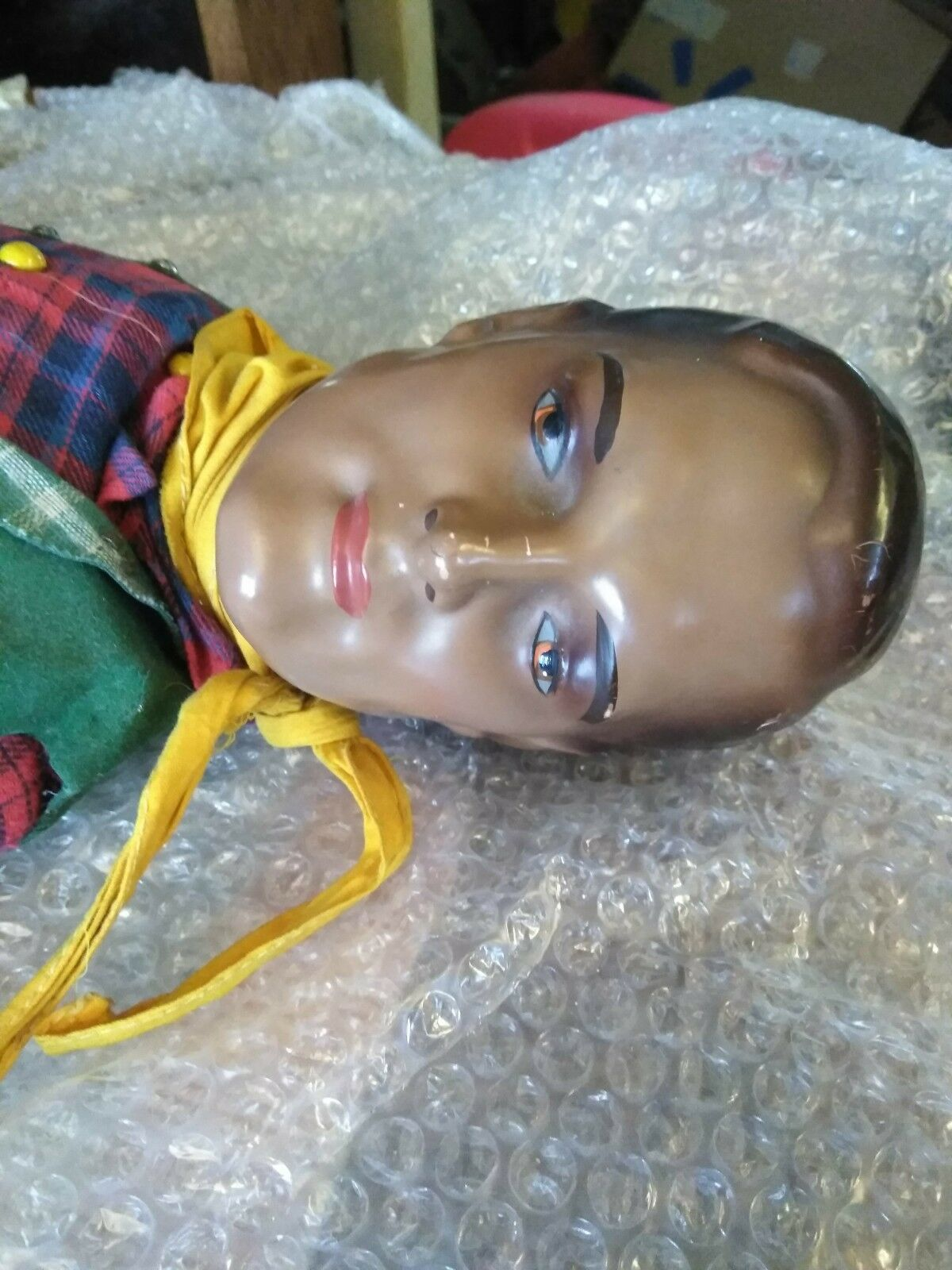 ANTIQUE LONE RANGER DOLL,1930, EXTREMELY RARE-- 25
