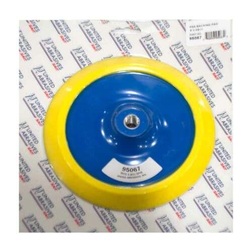 """United Abrasives SAIT 95067 8/"""" x 5//8-11 Thread Angle Grinder PSA Backing Pad"""