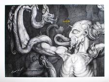 Ernst Fuchs - Der Anti-Laokoon - handsigniert, nummeriert