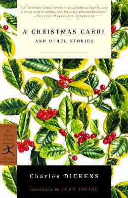 1 of 1 - A Christmas Carol and Other Stories (Modern Library Classics)-ExLibrary
