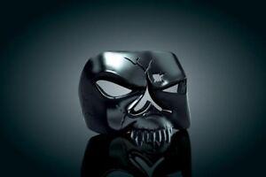 Harley-Davidson-Accessory-Black-Zombie-Skull-Taillight-Cover-NEW