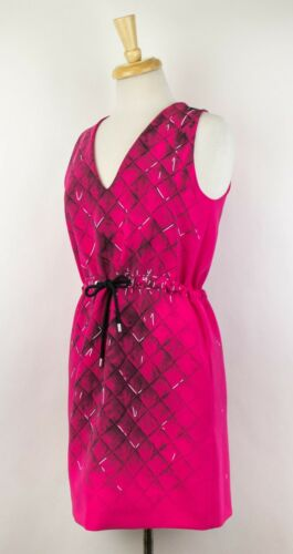 Jeremy Scott Robe Rose Moschino Couture 38 Manche Neuf Sans Cordon 4 X Ixwtzdq