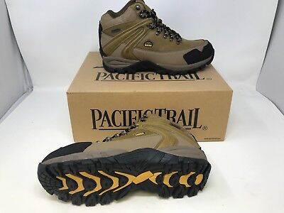 b39a27dd2c6 NEW! Pacific Train Men's Rainier Hiking Boots Camel W13 az | eBay