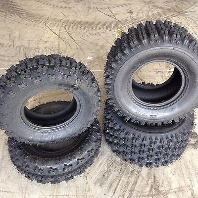 MASSFX ATV Tires 22X7-10 22x10-10 4 Set 4ply YAMAHA YFB 250 Timberwolf 1995-2005