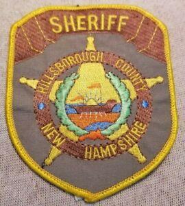 NH Hillsborough County New Hampshire Sheriff Patch