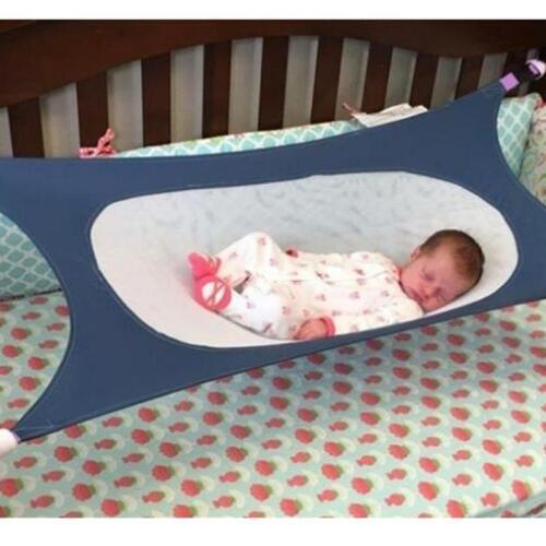 New Portable Baby Hammock Infant Bed Elastic Detachable Baby Crib Safty 6A
