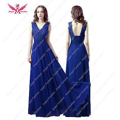 V-neck New Design chiffon floor length bridesmaids/Party/Wedding dress