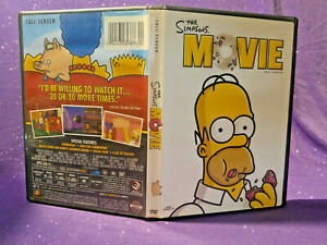 The Simpsons Movie 2007 Full Screen Edition Dvd Like New Condition 24543484387 Ebay